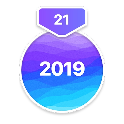 2019 21-Day Challenge Badge