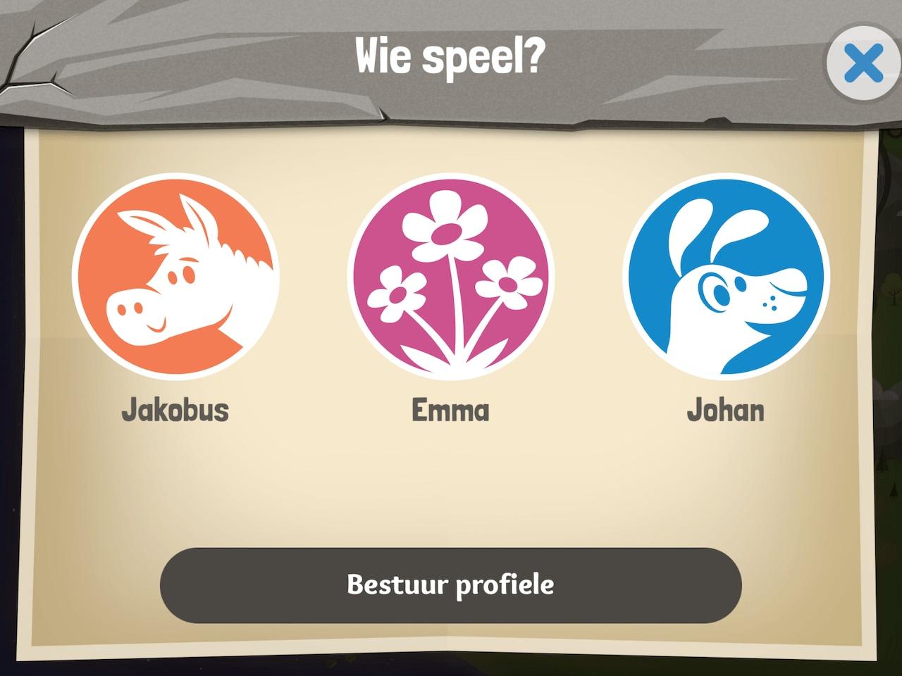 Bybel App vir Kinders Profiele