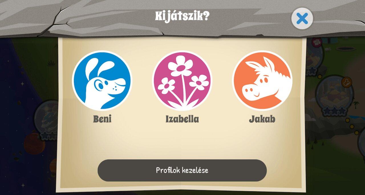 Biblia gyerekeknek alkalmazás profilok