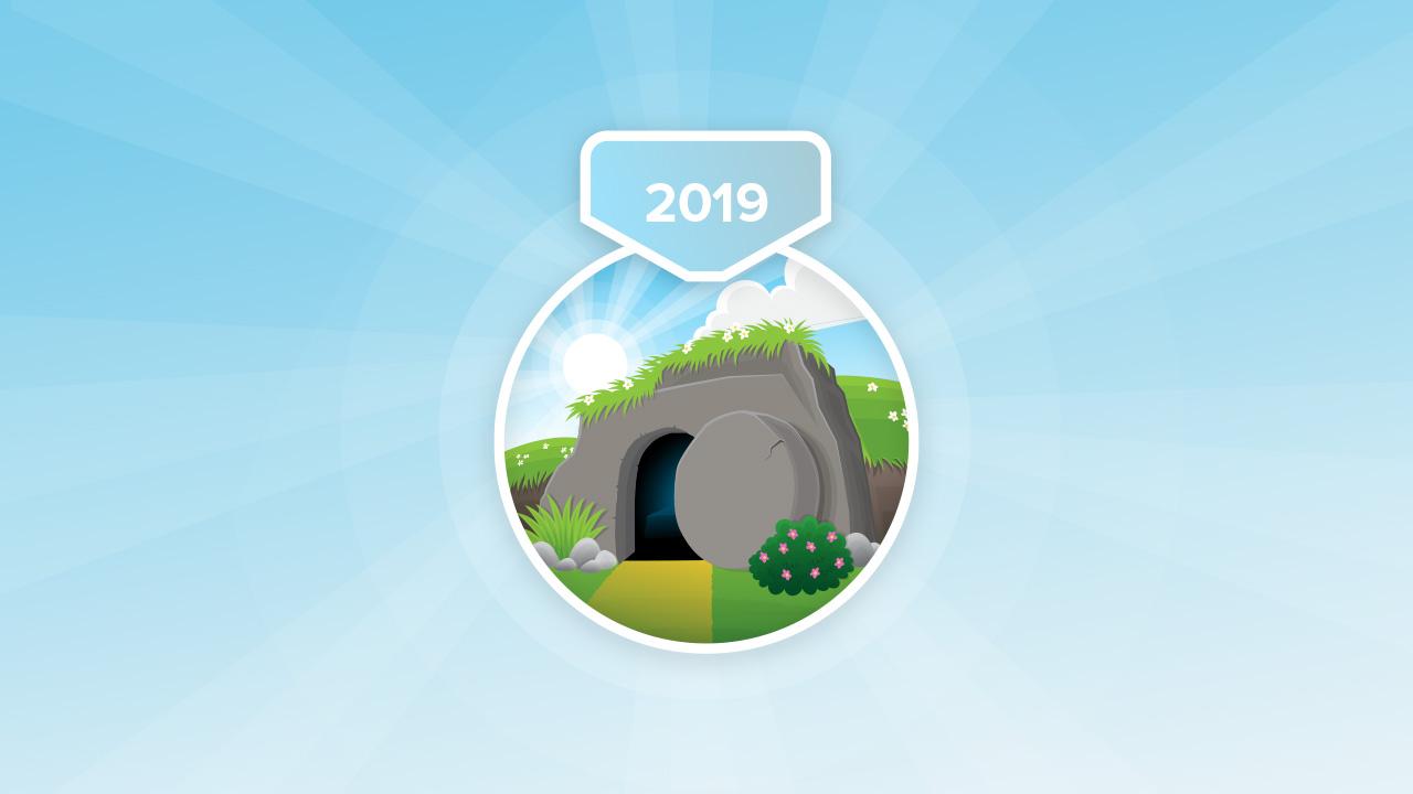 2019 Easter Challenge Badge