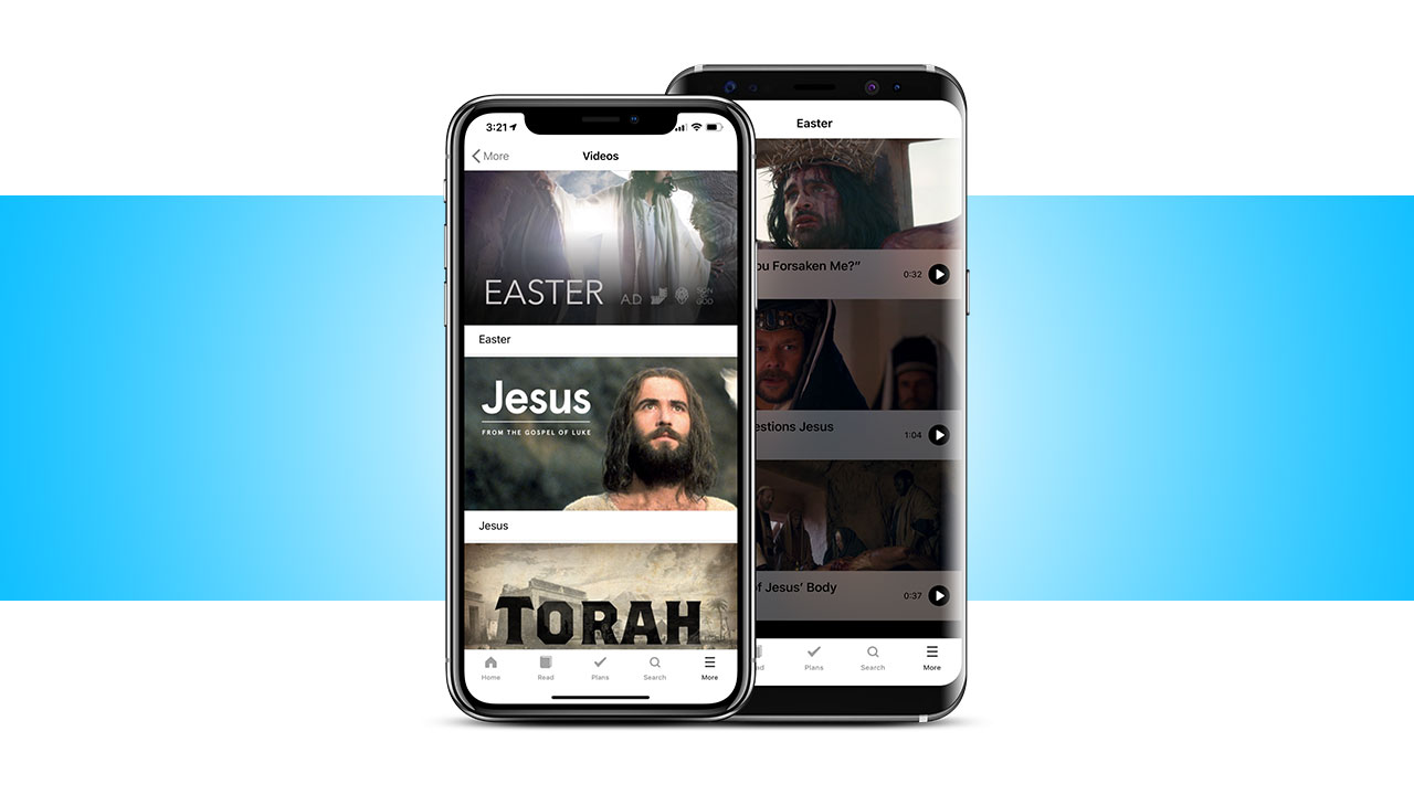 Easter videos in the Bible App