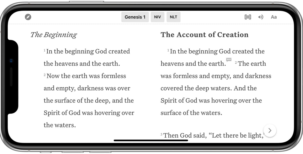 Update now for your best Bible App for iPad experience ever