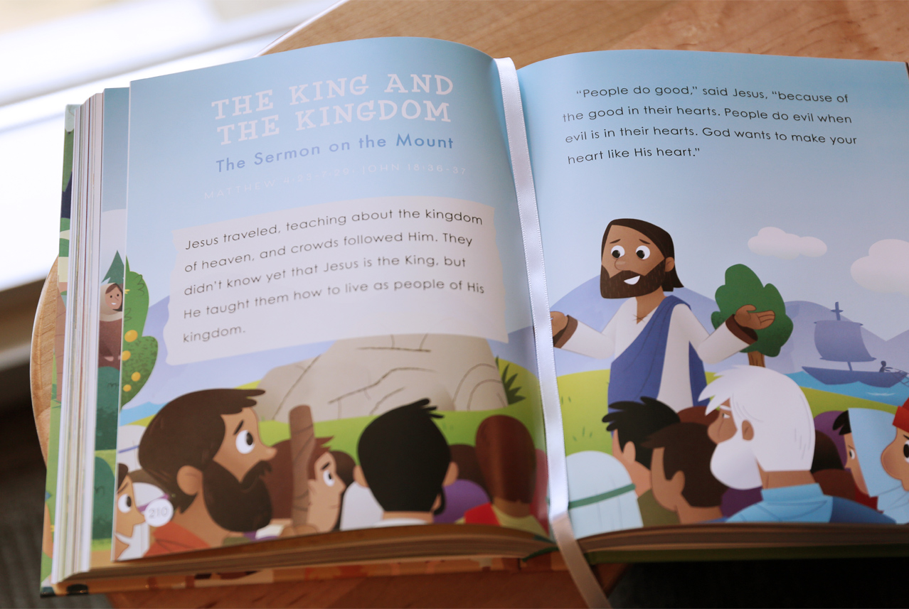 The King and the Kingdom from the Bible Storybook