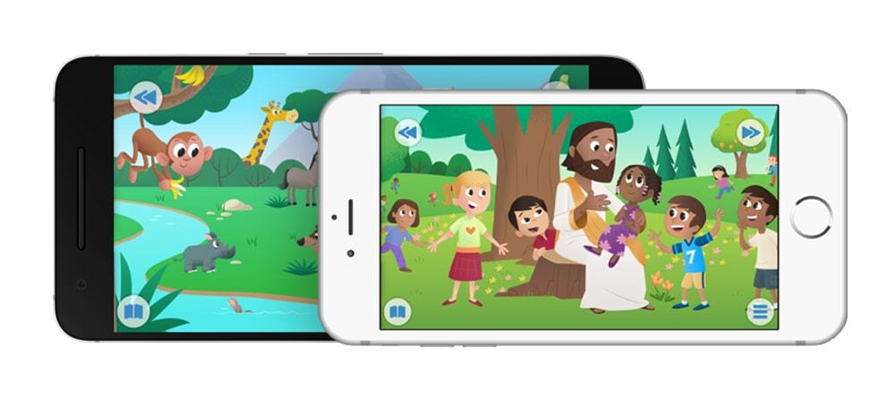 Bible App for Kids in Georgian
