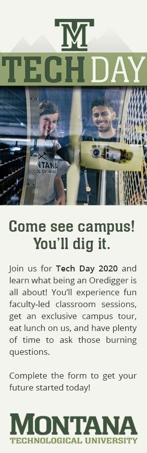 Fall Tech Day sidebar describing the event briefly.