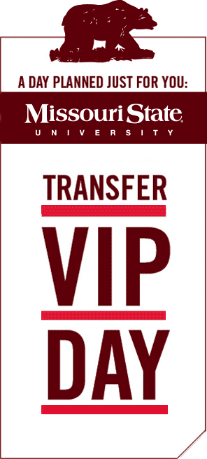 Missouri State University: College of Agriculture Transfer VIP Day Registration