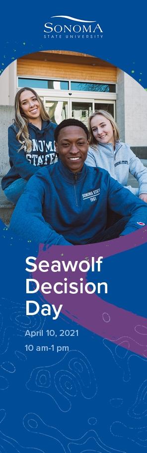 Seawolf Decision Day, April 10, 2021. 10am-1pm