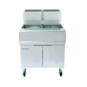 FREIDORA GAS LPG 2 CANASTILLOS MOD. MJ250