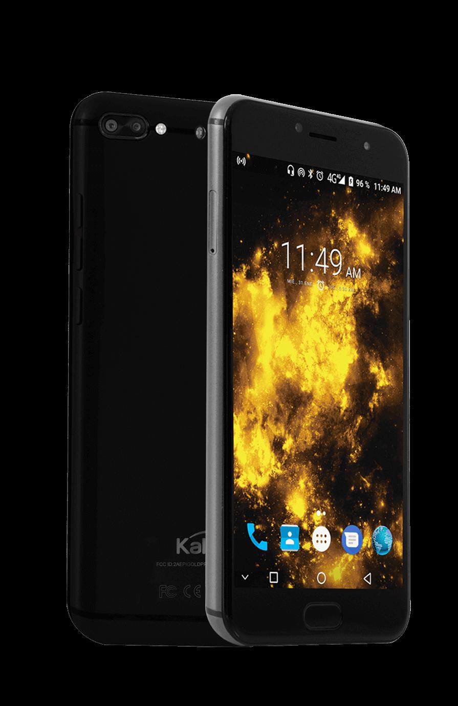0a02422b75d Celular Libre KALLEY Gold Negro DS 4G Alkosto Tienda Online