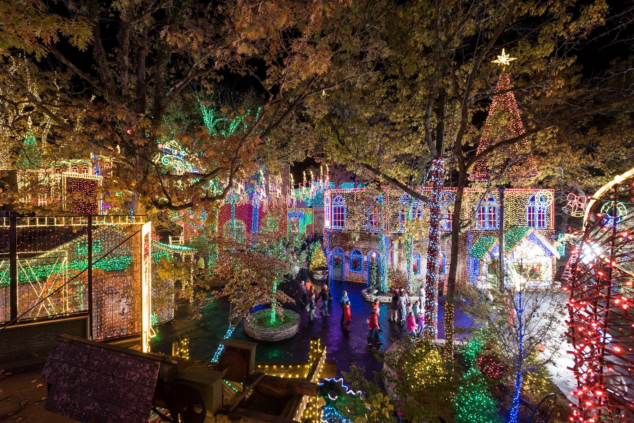 if youre looking for a holiday getaway that captures the feel of a quintessential winter wonderland look no further than these magical christmas light