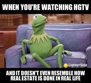 real estate not hgtv