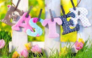 Happy Easter Wide Desktop Background