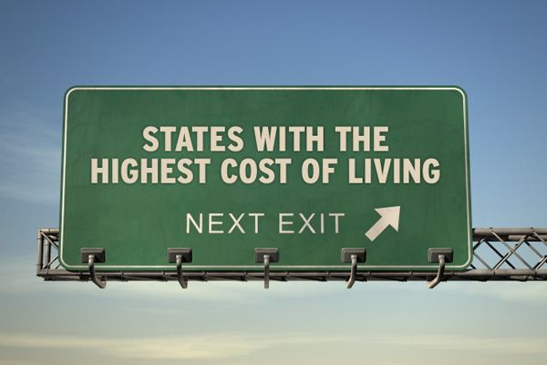 10 States with the Highest Cost of Living