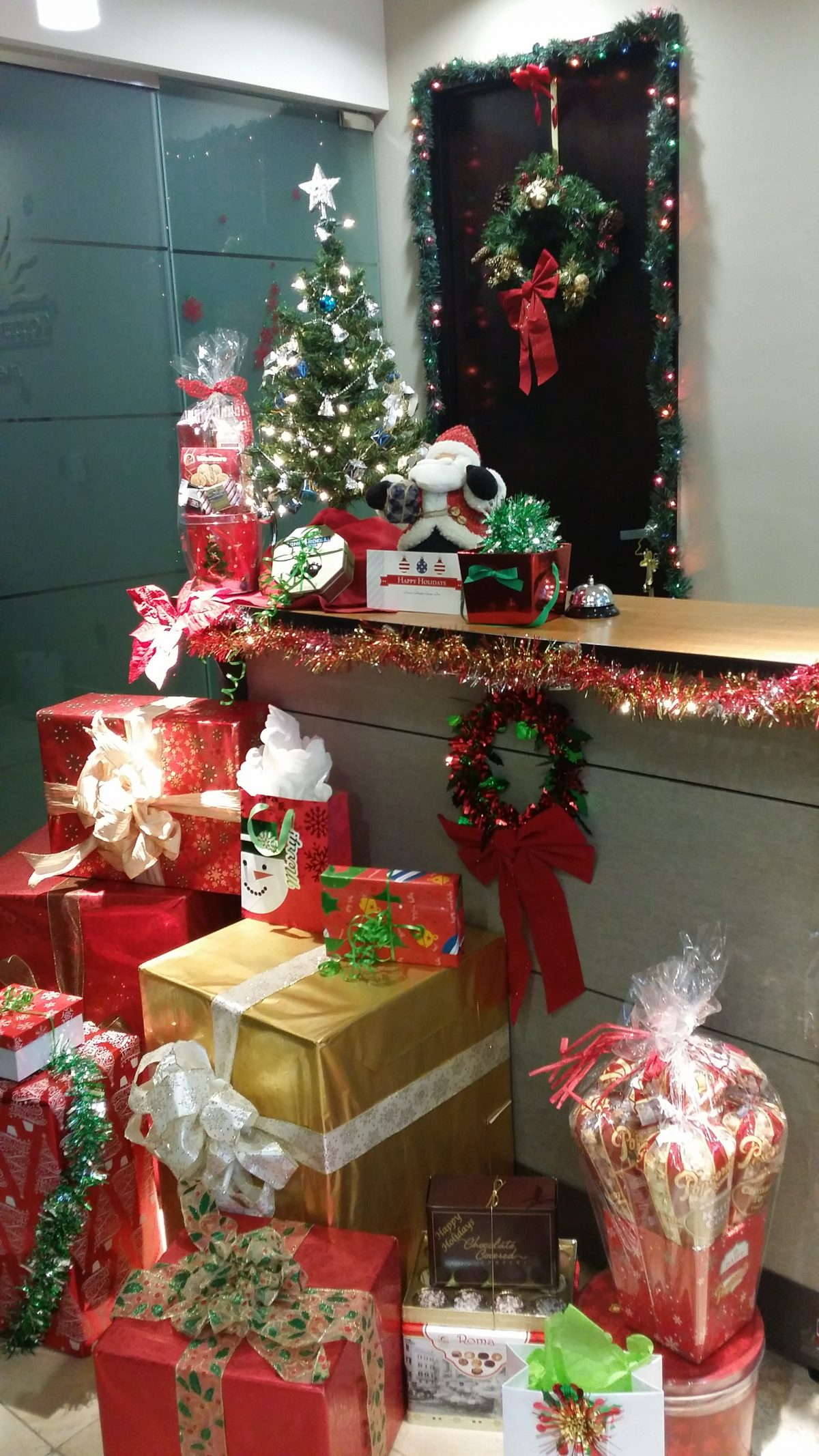 Happy Holidays from the GoldenWest Management Las Vegas Office