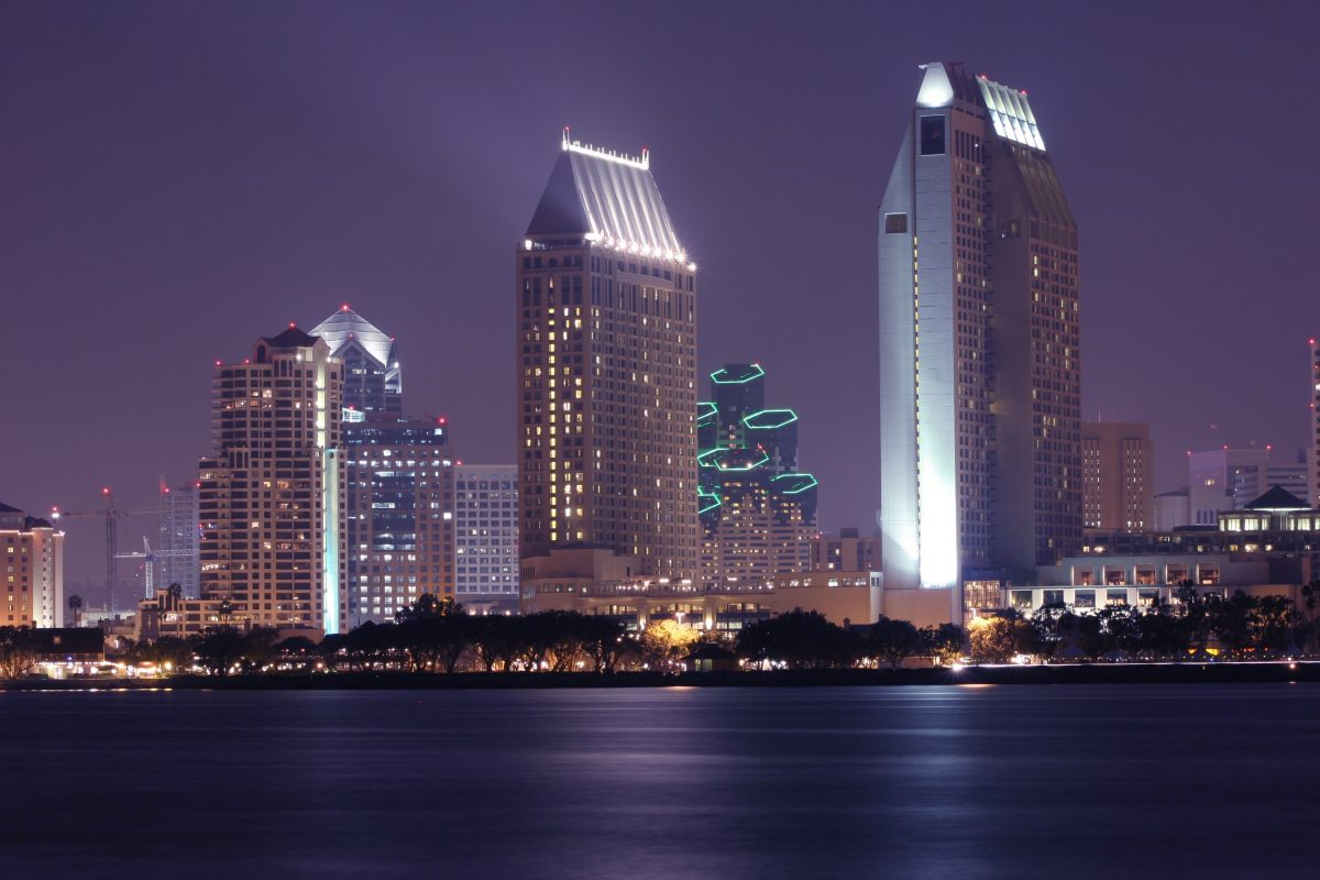 San Diego, City Skyline