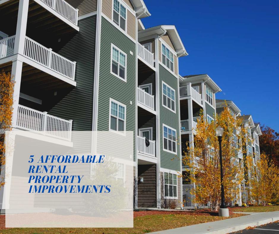 5 Affordable Rental Property Improvements