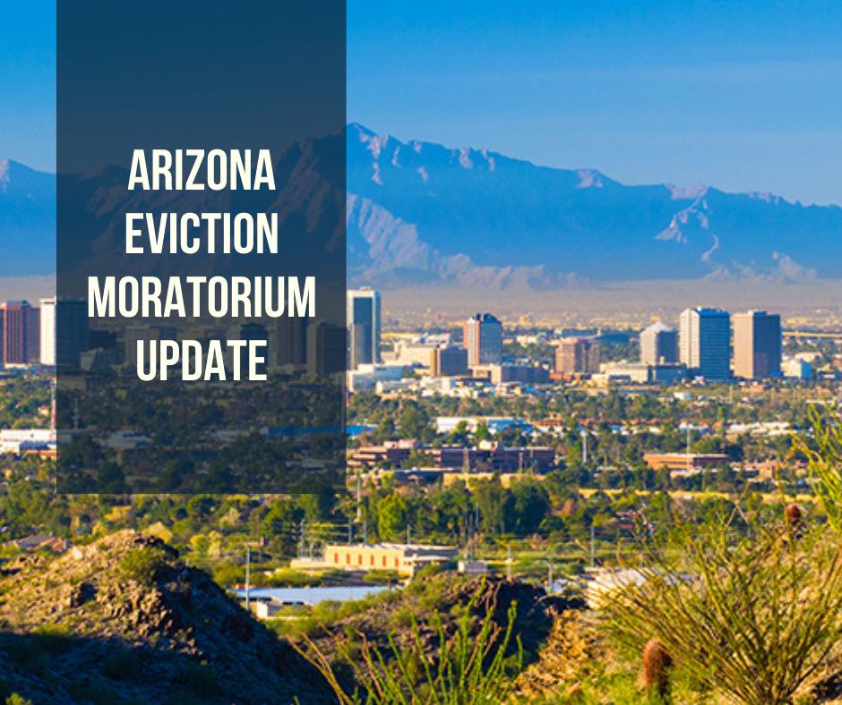 Arizona Eviction Moratorium Update