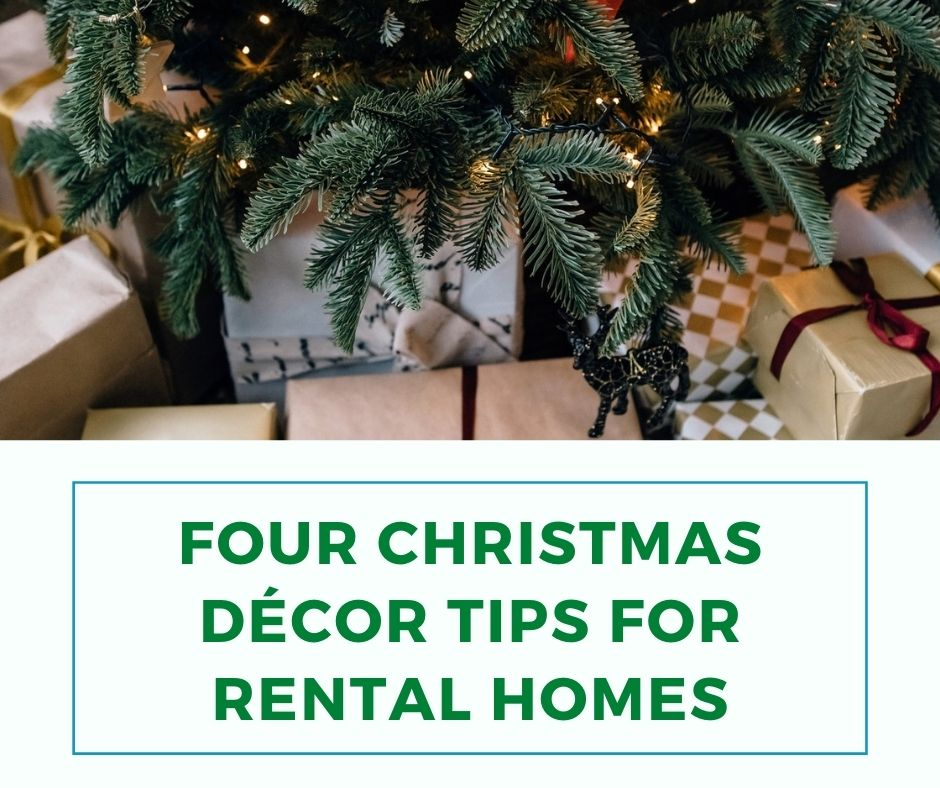 Four Christmas Décor Tips For Rental Homes
