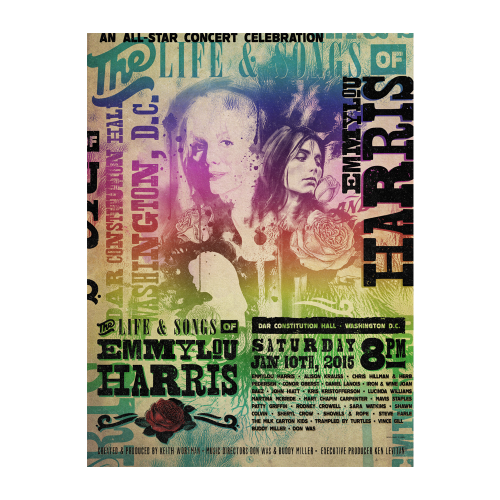 Emmylou Harris Life & Songs Of Emmylou Harris Poster