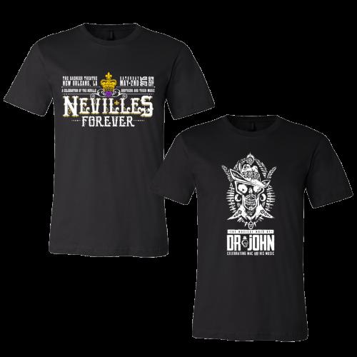 Nevilles Forever & Dr. John T-Shirts