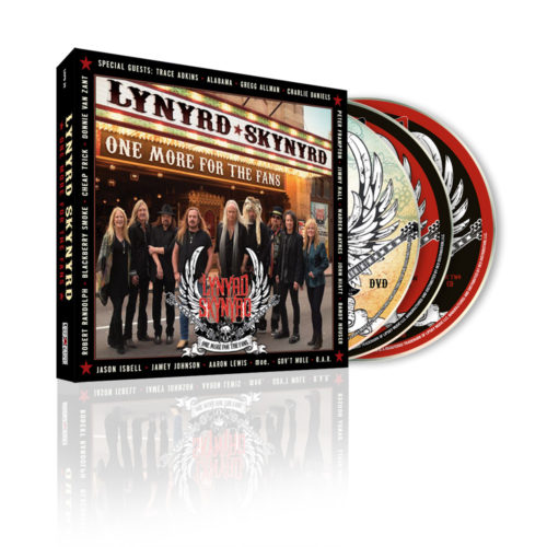 Lynyrd Skynyrd One More For The Fans 3 Disc CD/DVD