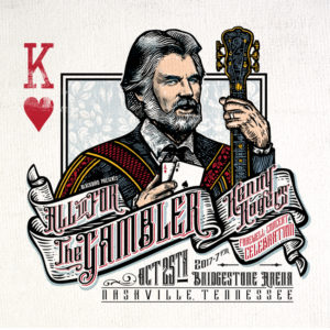 Kenny Rogers:  All In For The Gambler   Oct 25th, 2017 Nashville, TN