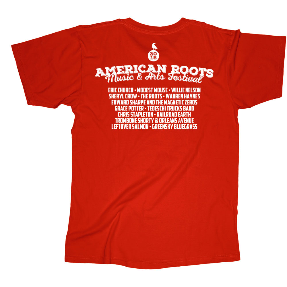 American Roots Red T-Shirt