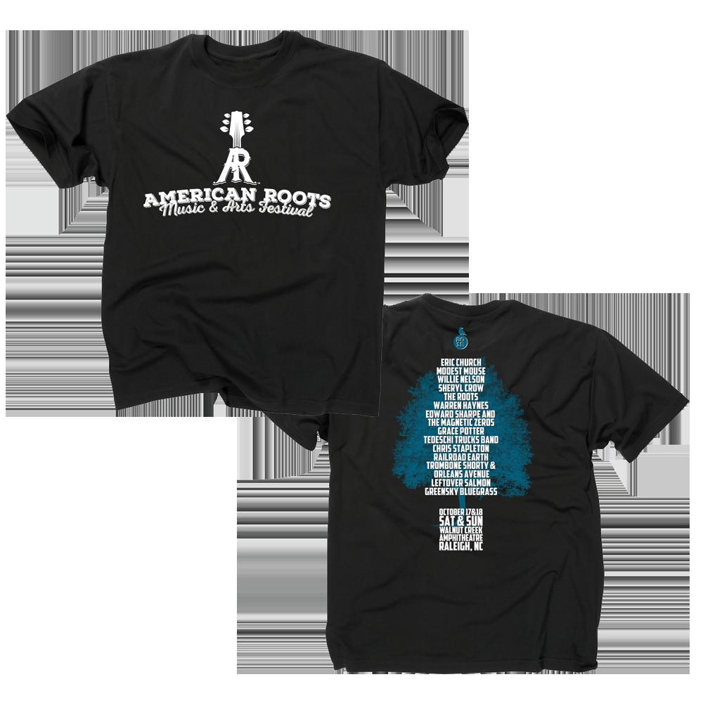 American Roots Black T-Shirt