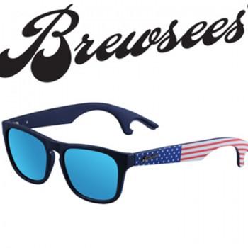 Polarized sunglasses that open beer bottles and sunglasses that shotgun beer cans.