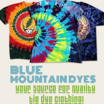 """Custom tie-dye shirts. Our handmade selection of """"hippie"""" gear is sure to impress everybody."""