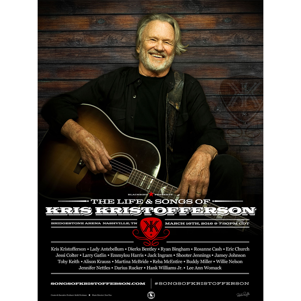 The Life & Songs of Kris Kristofferson Poster