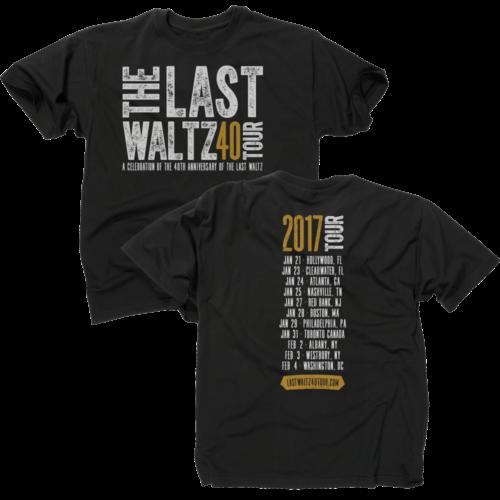 Last Waltz 40 Tour T-Shirt