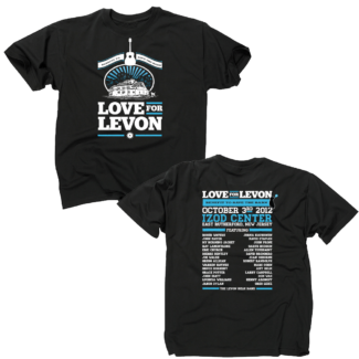 Love For Levon Helm T-shirt