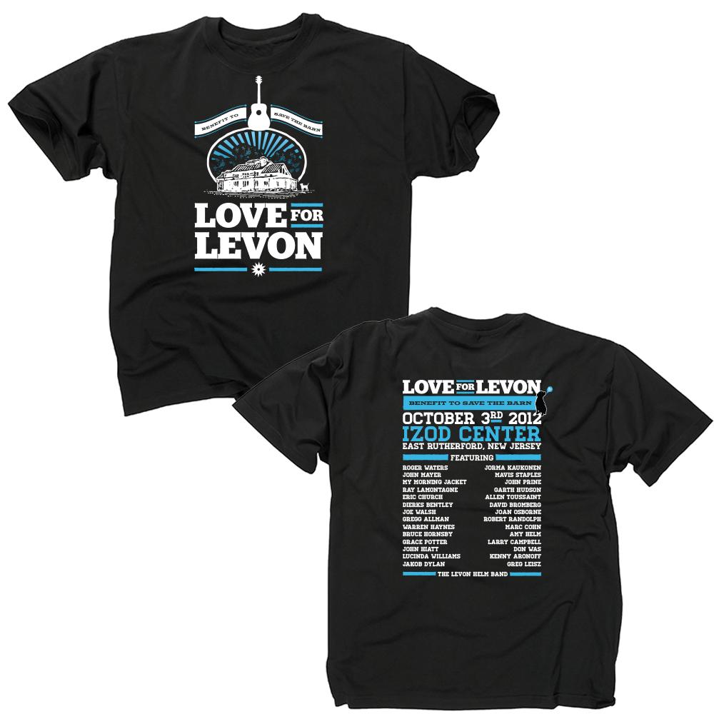 Love For Levon Helm T-shirt
