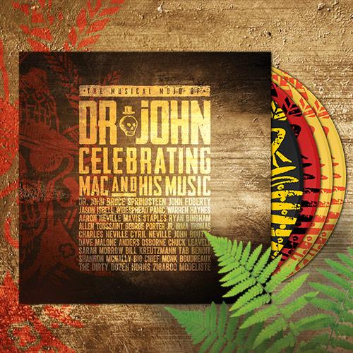 The Musical Mojo of Dr. John CD DVD Blu-ray