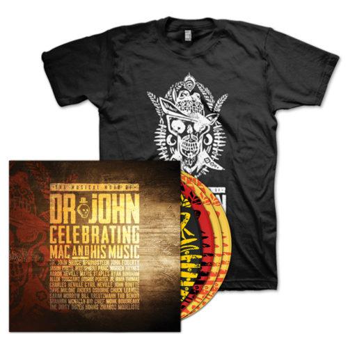 Musical Mojo of Dr. John 4 Disc Set & Concert T-Shirt Bundle