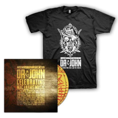 Musical Mojo of Dr. John 2 Disc Set & Concert T-Shirt Bundle