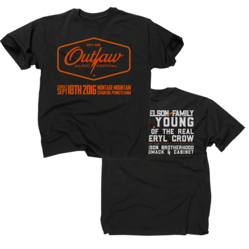 Outlaw Music festival Tee