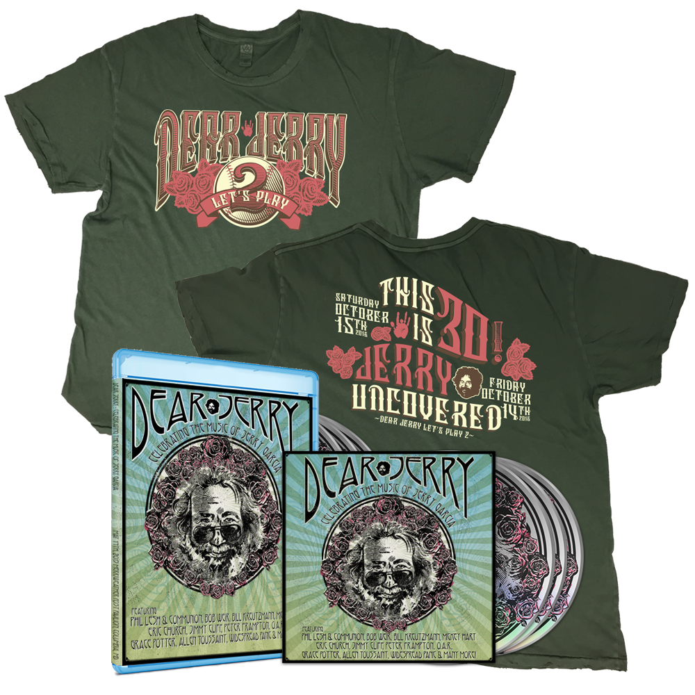 Dear Jerry Let's Play 2 - Distressed Tee & DVD/Blu Combo