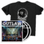 Outlaw: Waylon Jennings CD/DVD T-shirt Bundle