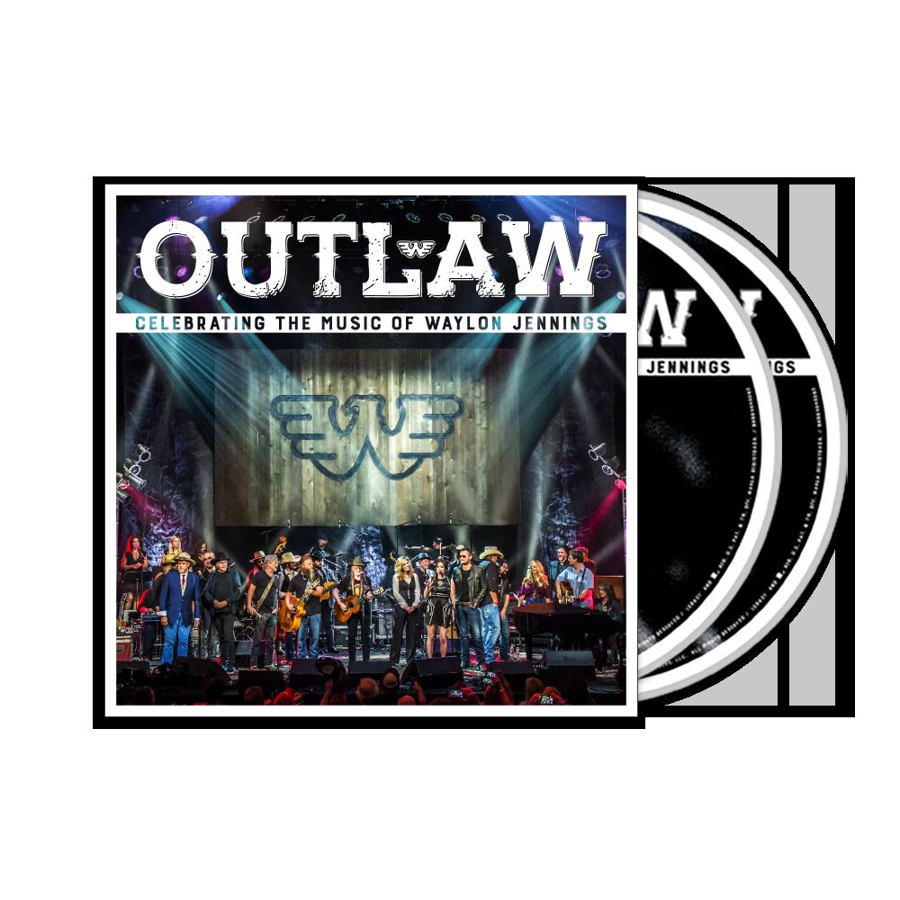 Outlaw: Celebrating The Music Of Waylon Jennings CD/DVD