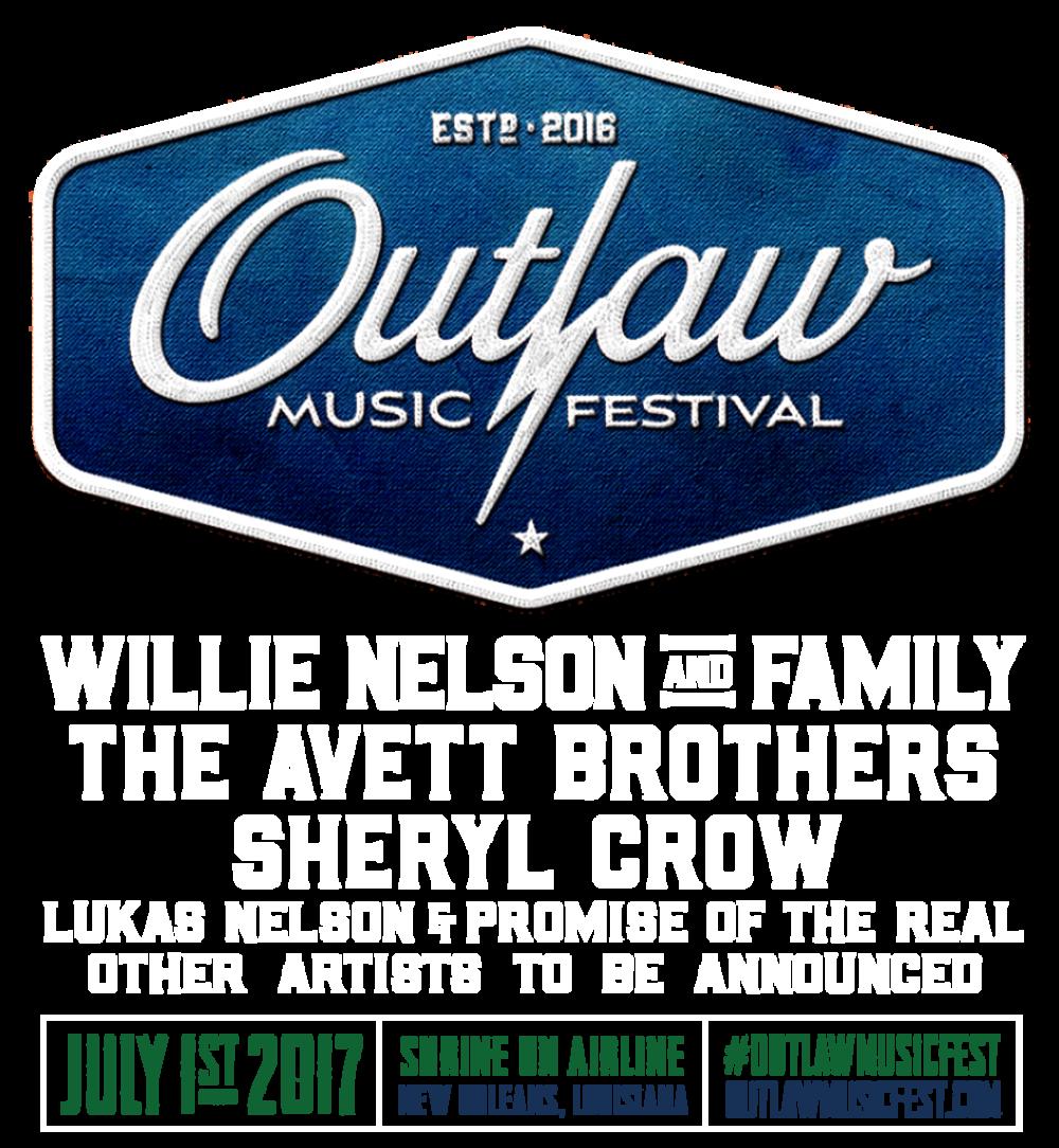 Outlaw Music Festival NOLA