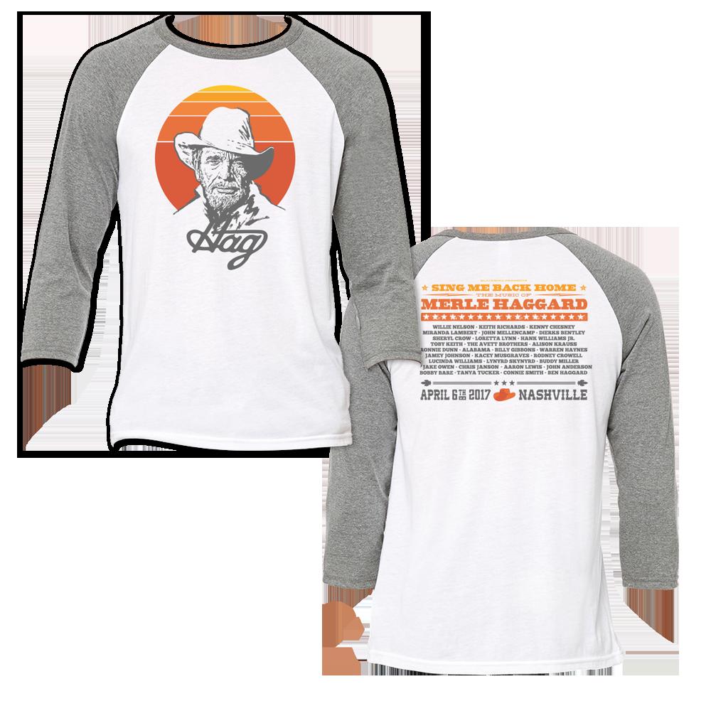 Music Of Merle Haggard Retro Baseball T-Shirt