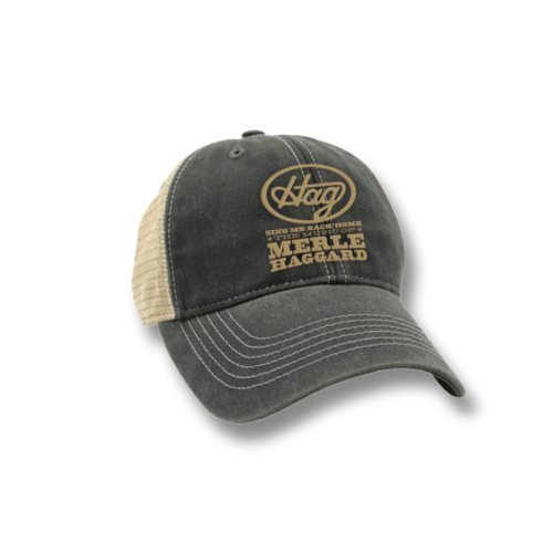 "Music Of Merle Haggard ""HAG"" Trucker Cap"