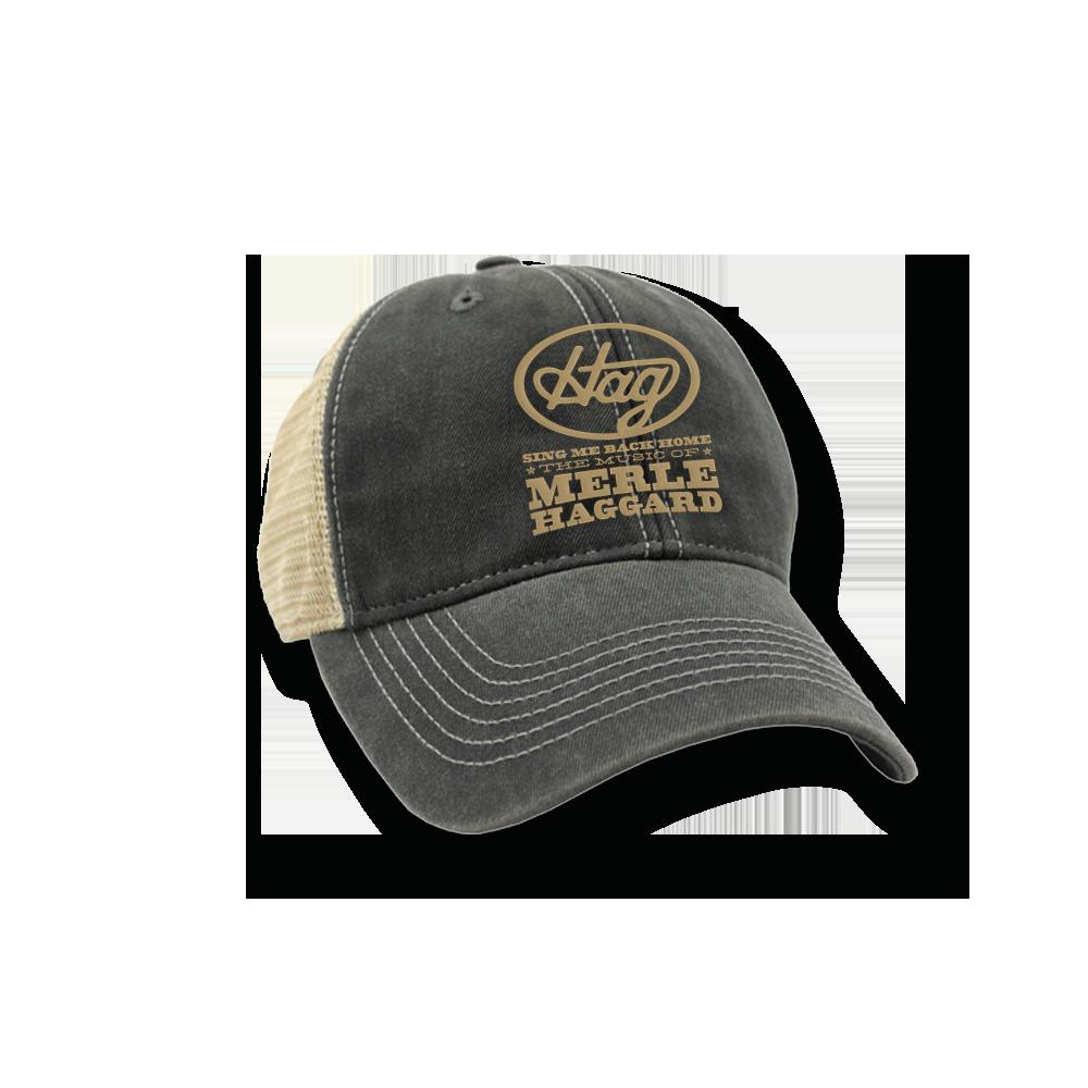 "Music Of Merle Haggard ""HAG"" Trucker Cap"
