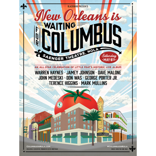 New Orleans Is Waiting For Columbus Poster
