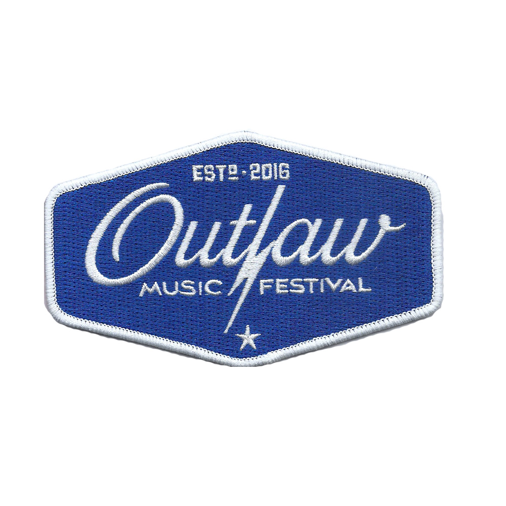 Outlaw Music Festival Patch