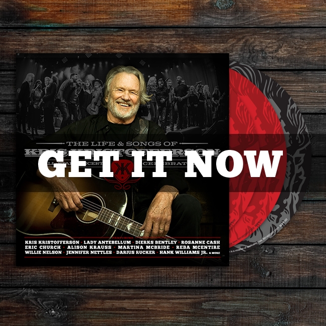 Life & Songs of Kris Kristofferson Shop