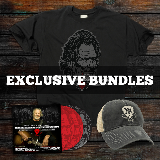 Life & Songs of Kris Kristofferson Bundles