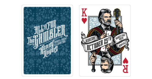 kenny rogers playing card